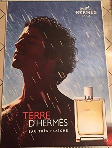 AFFICHE - Hermès  Terre d'Hermès eau fraiche - ABRIBUS - 120x175 cm - AFFICHE / POSTER