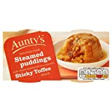 Aunty's Steamed Pudding's Sticky Toffee 2x100g