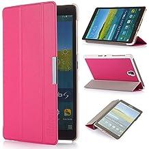 iHarbort® Samsung Galaxy Tab S 8.4 Funda - ultra delgado ligero Funda de piel de cuerpo entero para Samsung Galaxy Tab S 8.4 (T700 T705), con la función del sueño / despierta, rosa caliente