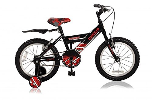 "16"" 16 Zoll Kinder Fahrrad Kinderfahrrad Bmx Bike Rad Kinderrad Rücktrittbremse CIRCUS ROT"