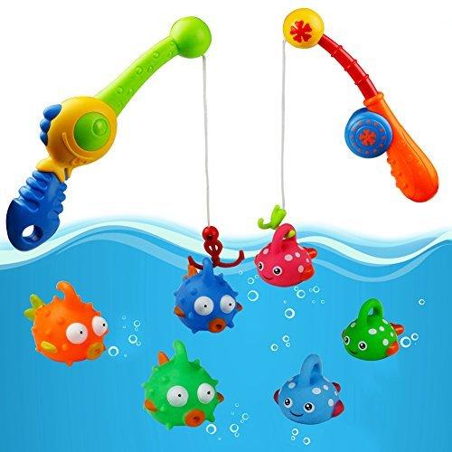 Badewannenspielzeug Baby Badespielzeug Angelspiel Badespaß für Kinder Junge Mädchen
