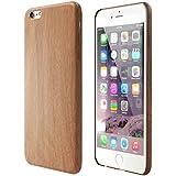 Satechi® Funda de Poliuretano con Diseño de Madera para iPhone 6/6S/6 Plus/6S Plus [Ultra Slim] Apple iPhone Ligera Cubierta Ajustada de la Contraportada (iPhone 6 Plus / 6s Plus)