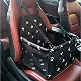 Systond Pet Dog Car Seat Booster Carrier Protector Bag Cage Cover Waterproof Deluxe