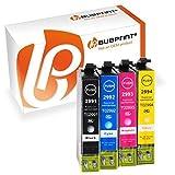 Bubprint 4 Druckerpatronen kompatibel für Epson T2991 - T2994 29XL für Expression Home XP-235 XP-245 XP-247 XP-332 XP-335 XP-342 XP-345 XP-432 XP-435