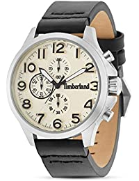 Timberland Orologio Cronografo Quarzo Uomo con Cinturino in Pelle 15026JS 07 986e34a8d18