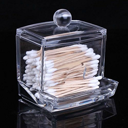 saguaror-clear-acrylic-makeup-cotton-ball-swabs-q-tips-holder-organizer-cosmetic-makeup-storage-box-
