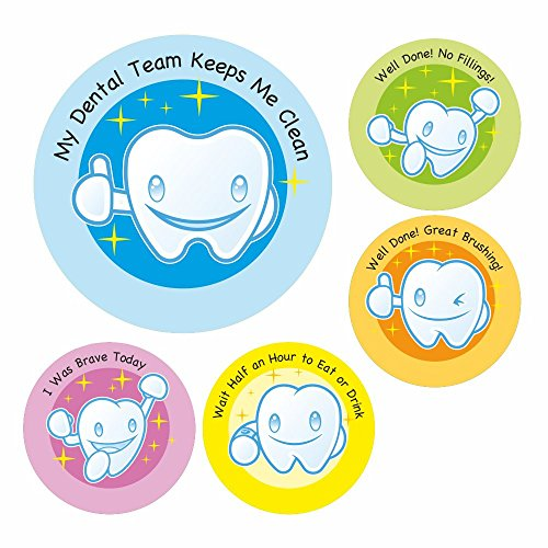Dental Care Sticker Set 1 for De...