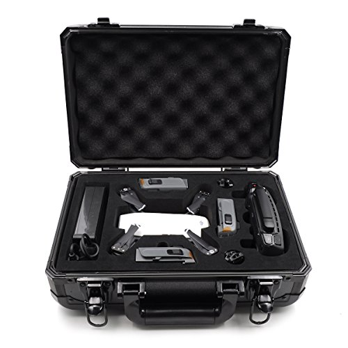 siyangmy Funda de Aluminio para dji Spark Drone (Black)