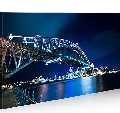 bild-bilder-auf-leinwand-sydney-brucke-1p-xxl-poster-leinwandbild-wandbild-von-islandburner-art-up-y