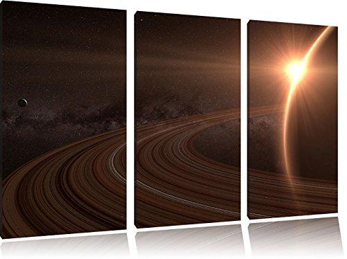 cosmic-planete-saturn-espace-3-pieces-image-image-toile-120x80-sur-toile-xxl-enormes-photos-complete