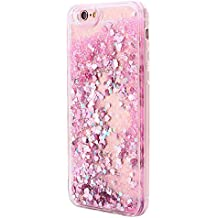 Dosige iPhone 6/6s Carcasa con,Arenas movedizas líquidas Silicona Fundas Para iPhone 6/6s ,Todo incluido Anti-Scratch Anti-huella dactilar a prueba de choque Suave Protective Case Cover Skin para iPhone 6/6s