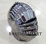 NAUTICAL MART nautique Mart Maximilien fermé Armour casque Wearable médiéval Costume...
