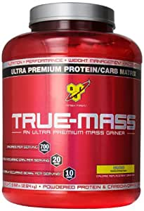 BSN True Mass Ultra-Premium Banana Lean Mass Gainer 2.64kg