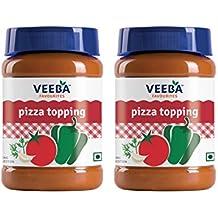 Veeba Pizza Topping, 310g (Pack of 2)