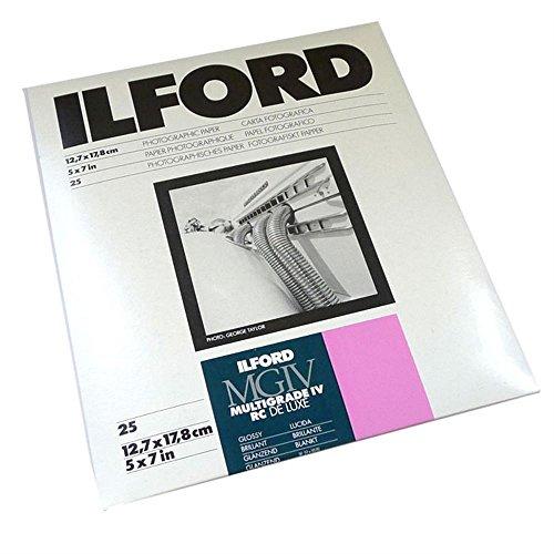Ilford Photo Papier 12,7 x 17,8 cm 25 feuilles