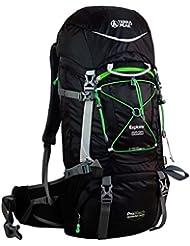 Terra Peak Explorer Sac à dos L Noir - Black/Green