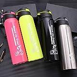 HZsdzML502ml Tragbare Reise-Edelstahl-Vakuumflasche Thermische Kaffee-Wasserflasche - Natürlich