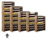 """Portabottiglie/bottiglie mountrose sistema """"Opti Plus"""" in legno, marrone in legno di pino"""