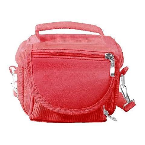 Emartbuy® Red Nintendo DS Lite/DSi/DSi XL/3DS/3DS XL Travel Bag Carry Case