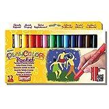 Playcolor 421981 - Confezione da 12 tempere solide, colore varie - PLAYCOLOR - amazon.it