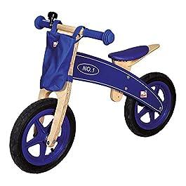 Bino 82705 – Bicicletta Blu Legno