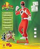 Rubie' s Ufficiale Red Ranger 2nd Skin Costume Adulto