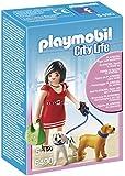 Playmobil - 5490 - Figurine - Femme Avec Chiots