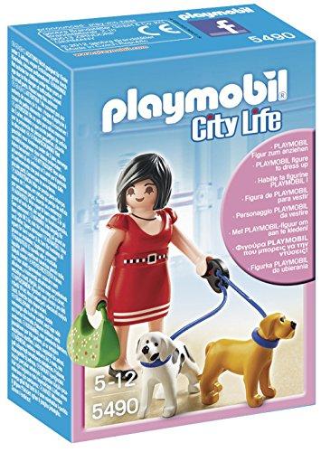 Playmobil Centro Comercial - City Life Mujer Cachorros