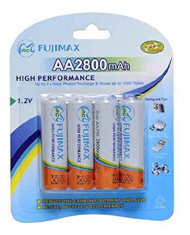 Fujimax AA 2800 mAh Rechargeable