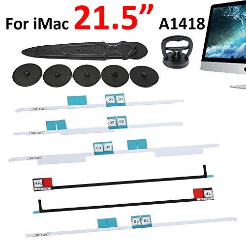 Kricson Bildschirm LCD Klebebandstreifen Ersatz-Entfernungswerkzeug Kit Klebeetiketten Streifen viel Werkzeuge zum Öffnen der Bildschirme für iMac 27
