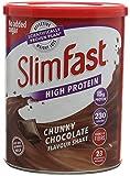 Slim Fast rico chocolate batido de leche en polvo
