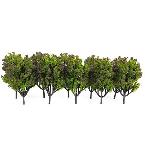 10pcs-1100-arboles-modelo-artificial-plastico-para-escena-del-ferrocarril-verde-flor-morada