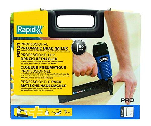 Rapid, 5000054, Cloueur Pneumatique, Pour travaux professionnels, Airtac, PB131, PRO