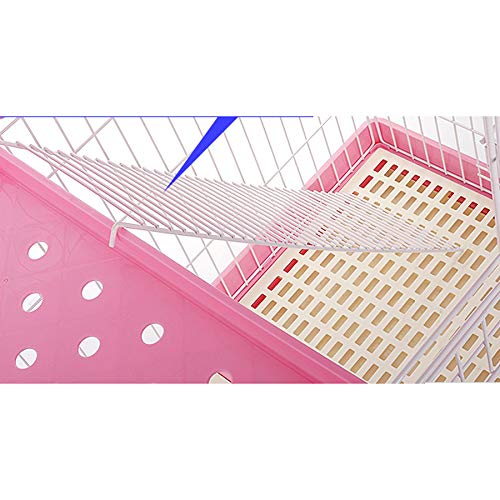 Cat cage cat villa cat cage two-layer pet cat + stairs · hammock  Pet fence