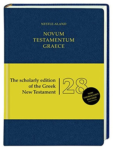 novum-testamentum-graece-nestle-aland-28th-revised-ed-of-the-greek-new-testament-standard-edition