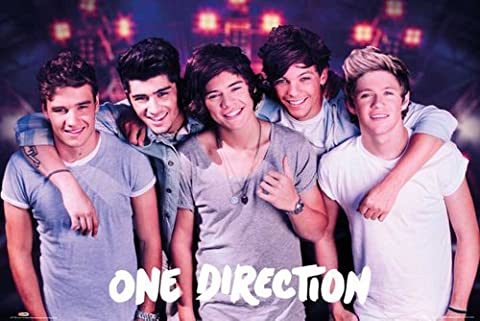Empire merchandising 624000 on stage one direction-musikposter musique pop boys