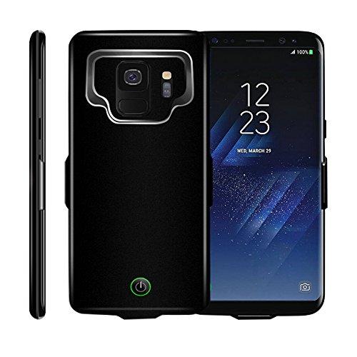 Idealforce Schutzhülle für Samsung Galaxy S9/S9 Plus mit Akku-Ladegerät, 7000 mAh, Externe, magnetische Powerbank, tragbare Ladehülle für Samsung Galaxy S9/S9+ S9 Plus