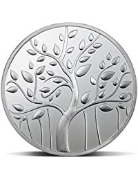 MMTC-PAMP India Pvt. Ltd. Banyan Tree Series 999.9 purity 100 gm Silver Coin