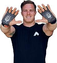 Bear KompleX 3-Loch Carbon Hand Grips für Gymnastik, Crossfit, Klimmzüge & Gewichtheben - Pull Up Grips für mehr Komfort & p