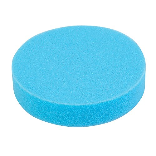 Silverline 357302 Eponge de polissage auto-agrippant medium 180 mm Bleu
