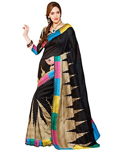 ( AG Lifestyle Bhagalpuri art silk printed saree-28 ) sari  available at amazon for Rs.300