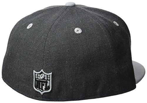 New Era Cap Top Oakland Raiders Heather Gray
