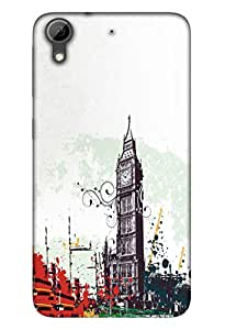 Htc Desire 728 Mobile Back Cover For Htc Desire 728; It Is Matte glossy Thin Hard Cover Of Good Quality (3D Printed Designer Mobile Cover) By Clarks