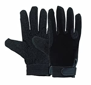 Matchmakers Harry Hall Pimple Grip Gloves - Black, X-Small