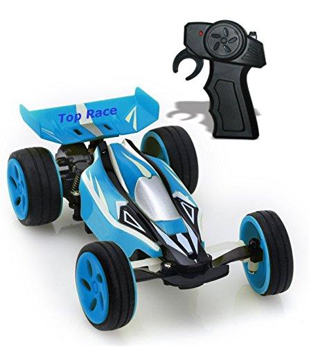 Top Race® Extreme High Speed Fernbedienung Auto, 2,4GHz, neuesten Design, schnellste Mini RC Ever (Farben variieren) - 2