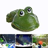 dairyshop Aquarium Süßes Frosch Air Bubble Bubbling Stein Sauerstoff Pumpe AQUARIUM Ornament Dekor...