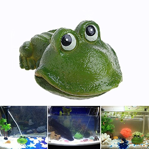 dairyshop Aquarium Süßes Frosch Air Bubble Bubbling Stein Sauerstoff Pumpe AQUARIUM Ornament Dekor Neu -