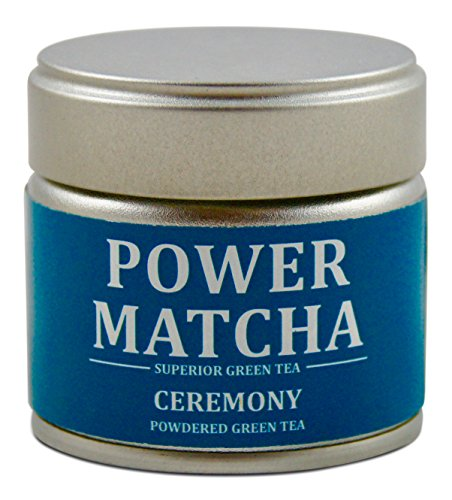 POWER MATCHA | DAS ORIGINAL | CEREMONY | Matcha-Tee-Pulver | Grüntee-Pulver für...