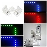 10pcs 4pin L Form LED Verbindungsstück Eckverbinder für 10mm RGB LED Streifen Lichter LED Band Lichter Adapter