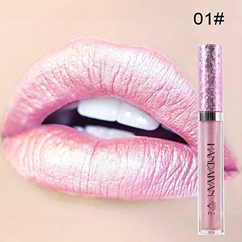 Frauen-verblassende dauerhafte befeuchtende Lippenstifte Lipgloss-Lippenpflege-kosmetisches Werkzeug